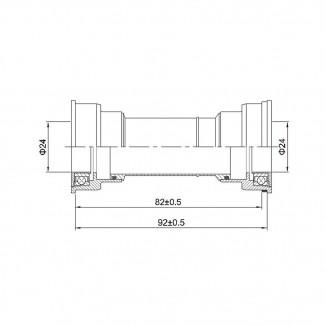 Cubeta Shimano SM-BB71-41A
