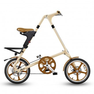 "Strida 16"" Cream/ Brown..."