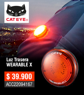 Luz Cateye Wearable X